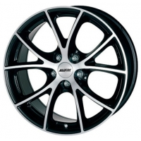 Alutec Cult 8,5x18 5/120 ET38 d-72,6 Diamond Black Front Polished (CU88538M73-1)