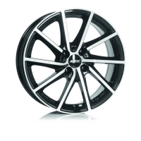 Alutec Singa 6,5x16 5/108 ET50 d-63,4 Diamond Black Front Polished (SIN65650F53-1)