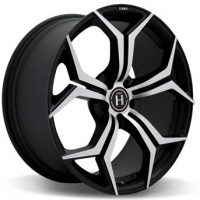 HARP Y-50 9x20/5x112 ET25 D66.56 Satin-Black-MACHINED