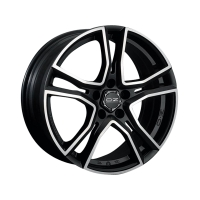 OZ Adrenalina 8,0x17 5/112 ET35 d-75 Matt Black Diamond Cut (W8501420254) d-L