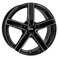 ATS Emotion 7,5x17 5/120 ET35 d-72,6 Diamond Black Front Polished (EM75735W33-1)