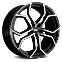 Fondmetal 9XR 9,0x20 5/112 ET55 d-66,5 Black Polished (9XR J9020555112KNA2)
