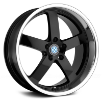 Beyern Rapp 9,5x19 5/120 ET45 d-72 Gloss Black Mirror Cut Lip (1995BYR455120B72)