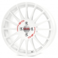 OZ Superturismo WRC 7,0x16 4/108 ET25 d-65,1 White Red Lettering (W0189505133)