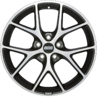 BBS SR007 7,5x17 5/108 ET45 d-70 Vulcano Grey Diamond Cut (0358572#)