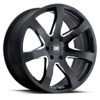 Black Rhino Mozambique 8,5x20 5/150 ET25 d-110,1 Gloss Black With Milled Spokes (2085MZA255150B10)