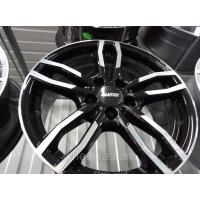 Alutec Drive 7,5x17 5/120 ET43 d-72,6 Diamond Black Front Polished (DRV75743W33-1)