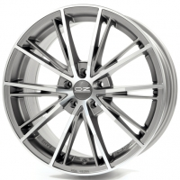 OZ Envy 7,5x16 5/105 ET35 d-56,6 Matt Silver Tech Diamond Cut (W8504100168)