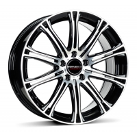 Borbet CW 1 7 x17 5/108 ET45 d-72,5 Black Polished (221688)