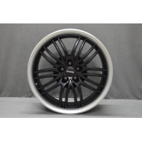 Alutec BlackSun 8,0x17 5/105 ET40 d-56,6 Racing Black Lip Polished (BS80740O83-6)